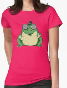Hipnogenic Toad  Womens Fitted T-Shirt