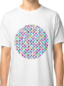 Abstract Floral Spots Classic T-Shirt