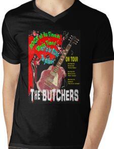The Butchers Mens V-Neck T-Shirt