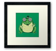 Hipnogenic Toad  Framed Print