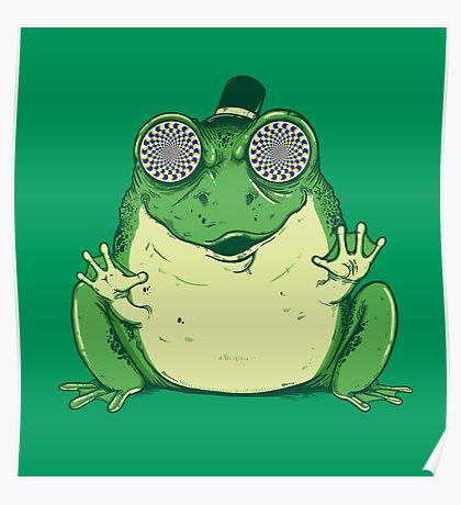 Hipnogenic Toad  Poster