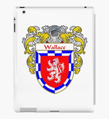 Wallace Coat of Arms / Wallace Family Crest iPad Case/Skin