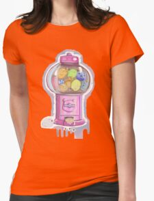 HamsterCandyMachine Womens Fitted T-Shirt