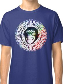 Rainbow colored Monkey / Philip DeFranco Show Logo Classic T-Shirt