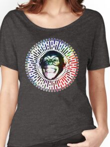 Rainbow colored Monkey / Philip DeFranco Show Logo Women's Relaxed Fit T-Shirt