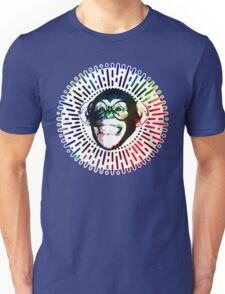 Rainbow colored Monkey / Philip DeFranco Show Logo Unisex T-Shirt