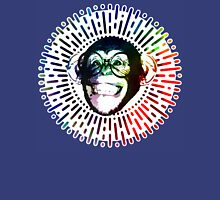 Rainbow colored Monkey / Philip DeFranco Show Logo Unisex T-Shirt