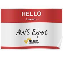 Hello I'm an AWS Expert! Poster