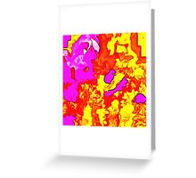 Abstract X2-13 Greeting Card