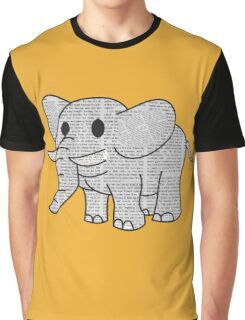 Satao the Paper Elephant Graphic T-Shirt