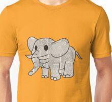 Satao the Paper Elephant Unisex T-Shirt
