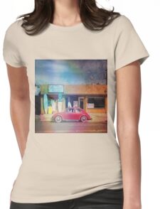 Surf Ride Womens Fitted T-Shirt