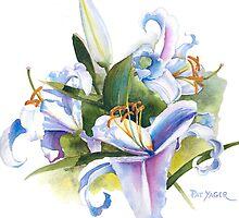 Casa Blanca Watercolor #2 by Pat Yager