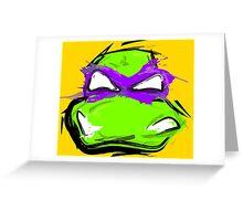 Donatello Greeting Card