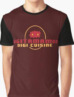 Digitamamon Digi Cuisine Graphic T-Shirt