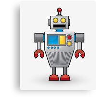 Genius Robot Canvas Print