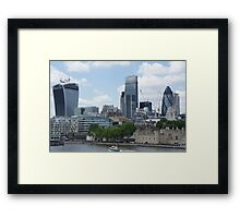 Walkie-Talkie building - 20 Fenchurch Street Framed Print