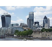Walkie-Talkie building - 20 Fenchurch Street Photographic Print