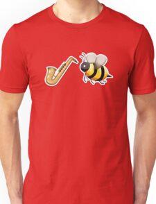 Emoji Jazz Bee Unisex T-Shirt