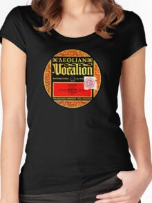Vocation label 1920's design! Women's Fitted Scoop T-Shirt