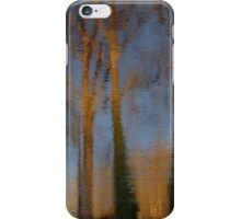 Impressionist trees iPhone Case/Skin
