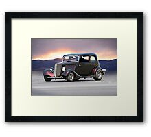 1934 Ford 'Vicky' Coupe Framed Print