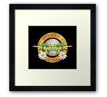 Supersoakers 'n Daisies Framed Print
