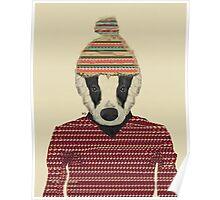 Seb the badger  Poster