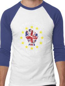 Stronger Together, UK, Brexit, Ukip T-shirt Men's Baseball ¾ T-Shirt