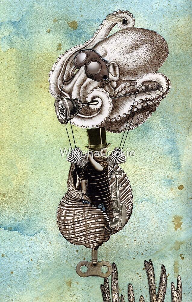 Flotilla - Trejean & Octopus by WinonaCookie