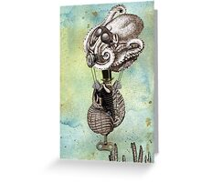 Flotilla - Trejean & Octopus Greeting Card