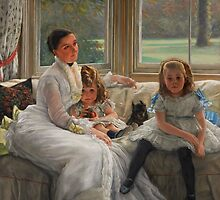 Catherine Smith-Gill and Daughters by dianegaddis