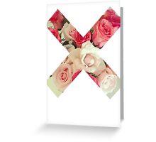 Flower Cross Greeting Card