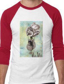 Flotilla - Trejean & Octopus Men's Baseball ¾ T-Shirt