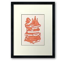 Magic of books Framed Print