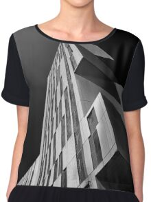 Broadcasting Tower in Leeds Chiffon Top
