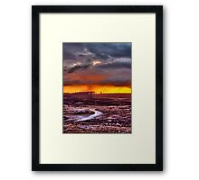Minera Sunset 3 Framed Print