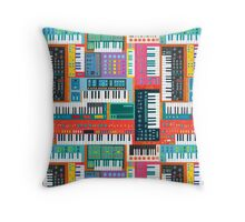 Synthusiast Throw Pillow