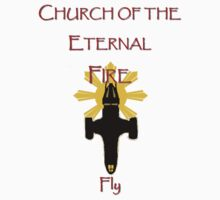 Church of the Eternal Fire...fly by DVstring