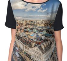 Leeds West Yorkshire - SKYLINE Chiffon Top