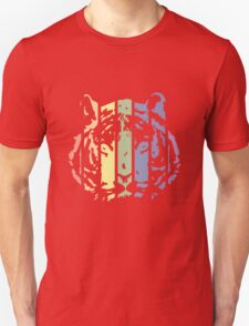 Tiger Color Stripes T-Shirt