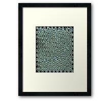 Crystal Wave Framed Print