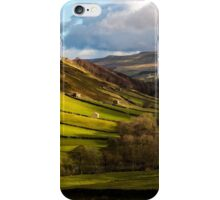 Barns in Swaledale  iPhone Case/Skin