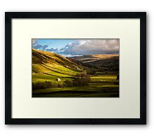 Barns in Swaledale  Framed Print