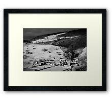 Swaledale Villages Framed Print