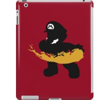 Fireball Mario iPad Case/Skin