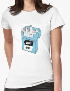 Gus' Metaphor Womens Fitted T-Shirt