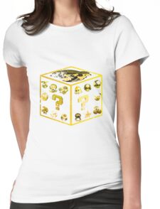 Mario Items Womens Fitted T-Shirt