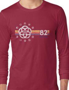 EPCOT Center Vintage Style Distressed Pavilion Logos  Long Sleeve T-Shirt