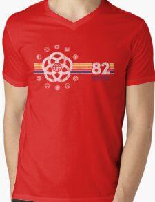 EPCOT Center Vintage Style Distressed Pavilion Logos  Mens V-Neck T-Shirt